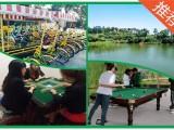 龙华周边心湖生态园体验农家乐一日游自驾活动基地
