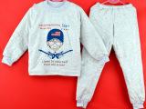 儿童保暖内衣套装加厚夹棉秋冬季童装男童女