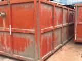 移动钢制泥浆池泥浆箱沉淀箱渣土箱废品周转箱废水箱下料箱租售