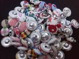 纽扣,包布纽扣批发,包布扣DIY,多款多色包布扣,布包扣批发