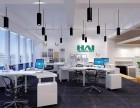居乐高南亚风情第壹城200平小型办公室装修设计效果图