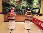 机器人送餐中式快餐蒸美味