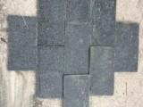 黑色蘑菇石厂家 黑石英蘑菇石厂家 小区外墙黑色文化砖(图)