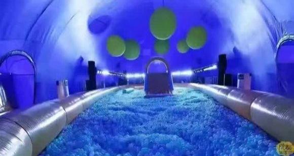鲸鱼岛主题 展鲸鱼岛嘉年华出租 滑梯划船100万球