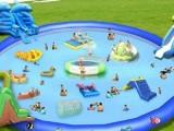 天蕊游乐供应水上乐园水滑梯各种款式规格水上漂浮物支架水池