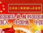 中国人 中国情 中国心 比亚迪联通4s店 上海总店 季末冲量