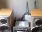 CD机爱华音箱音响一套