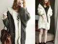 中长款羊羔毛呢子大衣批发黑龙江最低价时尚冬季女装棉服外套批发