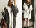 河南最低价冬季女装棉服批发货十元左右冬装加厚呢子修身大衣批发