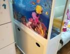 1.2米长二手鱼缸1个 100元处理 搬家弄破了一块玻璃