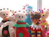 厂家直销批发供应 央视热播BBC花园宝宝毛绒玩具 一套6只