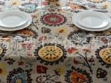 批发棉麻印花布 时尚民族风女装布料 桌布 靠垫 窗帘用料