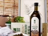 田园品味特级初榨橄榄油食用甘肃陇南武都特产750ml