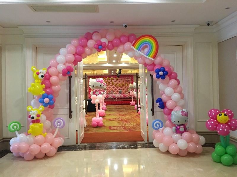 南宁气球/宝宝宴布置/生日派对/宝宝百日宴气球布置