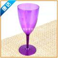 厂家生产供应PS高脚塑料杯 创意透明塑料杯