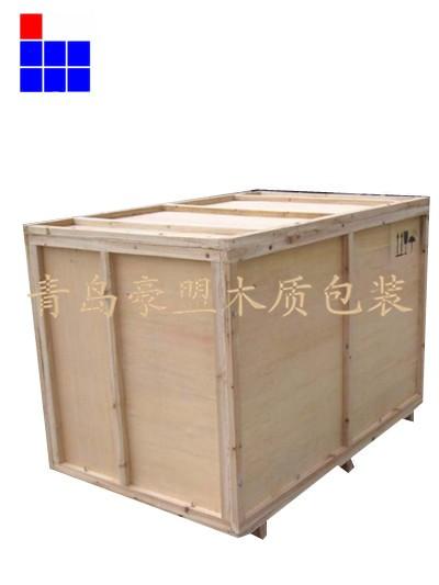青岛木箱出口免熏蒸胶合板木箱生产厂家