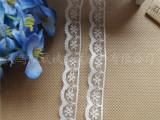 现货优价供应1.3-1.5公分袖套婚纱服饰花边 无弹锦纶蕾丝花边