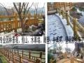 沈阳庭院假山水景施工,仿真树设计制作,水幕墙施工