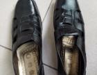 全新经典款大码男式黑凉鞋