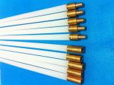 双股加强型通炮机清洗刷杆 尼龙刷杆 1010材质 铜头铆压 牢固