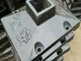 铸铁护栏底座铸铁马路墩交通安全防撞设施防撞墩80口100口