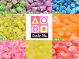 candy jdg传统工艺手工切花糖澳洲水果切片糖创意水果砍花糖