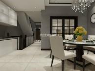 现代风格的别墅设计案例--远景装饰设计作品