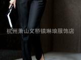 2015春季新品小脚裤美国希尔瑞好裤型 中缝罗马布材质