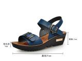 香港红蜻蜓夏季新款真皮凉拖鞋批发 温州品牌新款女鞋免费加盟