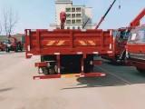 东风天龙前四后八轮装配三一14吨直吊机分期优惠包上户