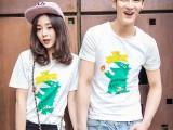 11块韩版情侣短袖T恤 新款夏季半袖 男女百搭时尚情侣装
