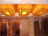 厂价直销酒店工程仿云石吊灯。透光石灯