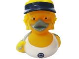 外贸搪胶鸭子 无毒环保BB大黄鸭玩具 地摊热卖搪胶玩具 早教玩具