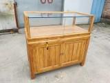 北京二手珠寶柜臺出售珠寶展柜出售實木柜臺出售榆木柜臺出售