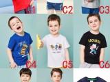 8块韩版热销童装纯棉短袖T恤 新货童T恤 中小童半袖批发