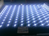 超亮5730带铝槽滴胶防水卷帘灯卡布灯条拉布灯条工厂