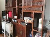 南通大红酸枝木家具回收
