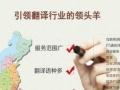 长沙翻译中心 专业翻译公司