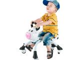 会说话的童车 早教益智玩具 儿童智能对话小奶牛学步滑行车扭扭车