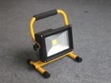 便携手提充电式集成LED投光灯/10W便携式应急投射灯