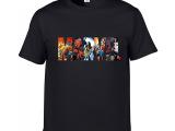 2016复仇者联盟X战警超人蝙蝠侠短袖T