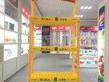 美都生产供应 塑料货架展示架 商超货架 加印logo塑料陈列架