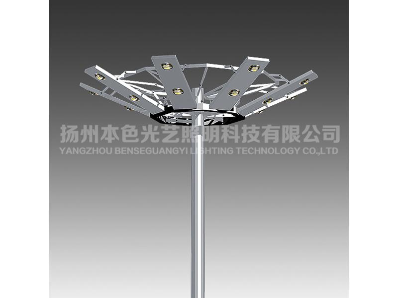 耐用的led高杆灯江苏供应——定制广场高杆灯