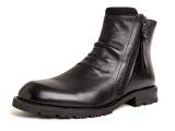 2015新款马丁靴男士头层牛皮拉链真皮男鞋单靴军靴 鞋子