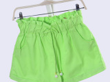 2014春夏款 韩版时尚短裤 显瘦纯色纯棉热裤 L8075