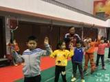 成都培星少儿羽毛球训练中心暑假斑开始招生