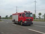国五重汽T5G 6吨水罐消防车
