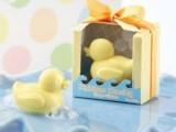 手工香皂 个性创意活动礼品 结婚婚庆回礼批发香皂透明盒鸭子香皂