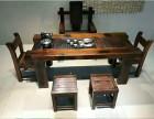 沉船木阳台休闲茶桌椅组合实木功夫户外小茶台船木仿古茶几