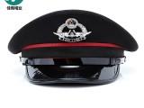 廠家定制飛行員大蓋帽航空大檐帽乘務員大蓋帽制服工作大蓋帽